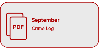 Link to September Crime Log