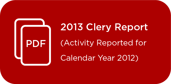 Link to Clery Report 2013