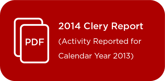 Link to Clery Report 2014