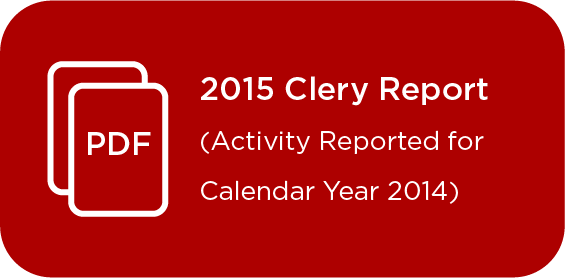 Link to Clery Report 2015