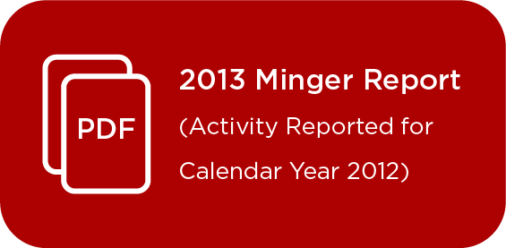 Link to Minger Report 2013