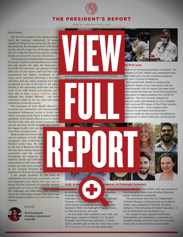 2021 Pres Report Feb Mar