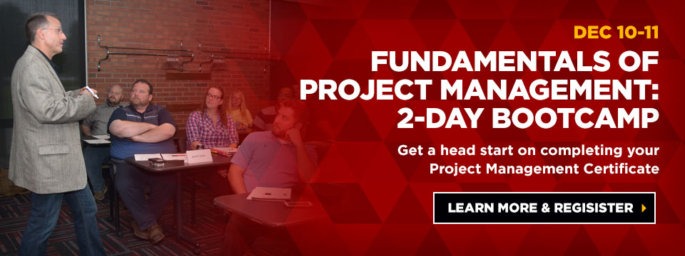 2-day Fundamentals Bootcamp in December