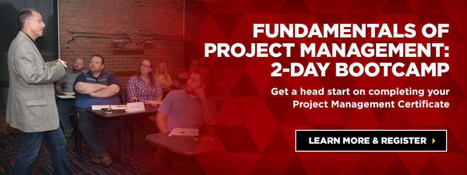 Fundamentals of project management: 2-day bootcamp