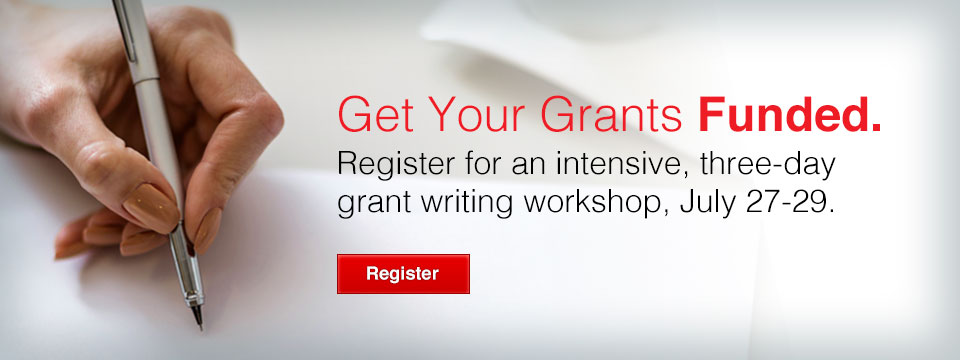 Grant Writing July 27-29