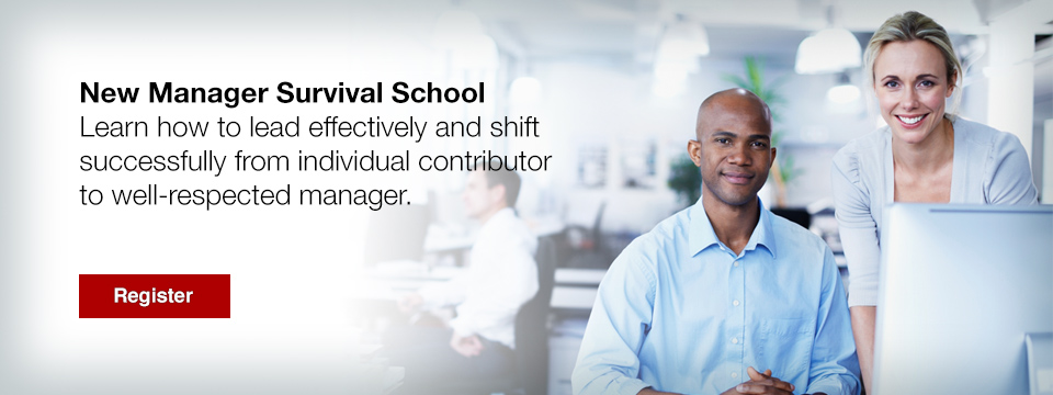 New Manager Survival School, Seminar, Management Training