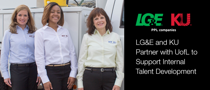 LG&E and KU Partner with UofL to Support Internal Talent Development