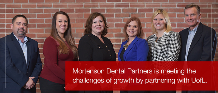 Mortenson Dental Partners with Cohort-based Learning