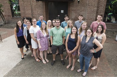 Group of grad students
