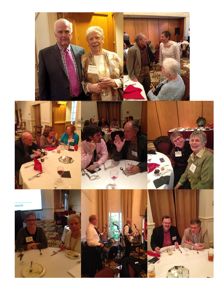 Collection of photos of alumni and current faculty at the 50th Anniversary Reunion Celebration
