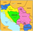 Picture of a map of Bosnia