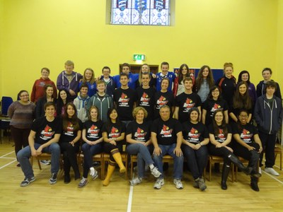 Picture of Research Team with Ulster Project Internaional, Castlederg, Northern Ireland