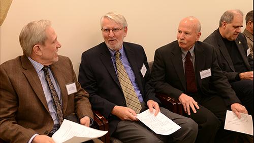 Dr. Steven Ralston, Dr. Nigel Cooper (KBRIN Program Director), Dr. Bruce Mattingly and Dr. Roger McNeil