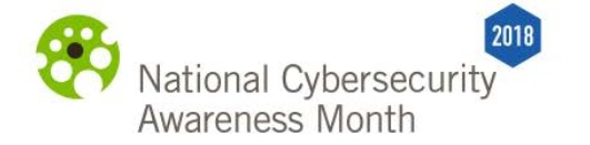National Cyber Security Awareness Month 2018