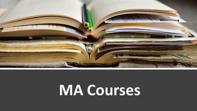 MA Courses image