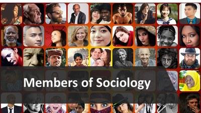 Meet the members of Sociology image