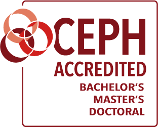 CEPH Accredited Bachelor's, Master's, Doctoral