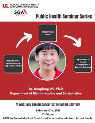 Dr. Wu Seminar Series