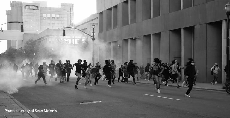 Tear Gas Photo