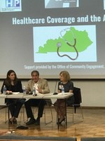 Buchino serves on a panel related to health care access and utilization