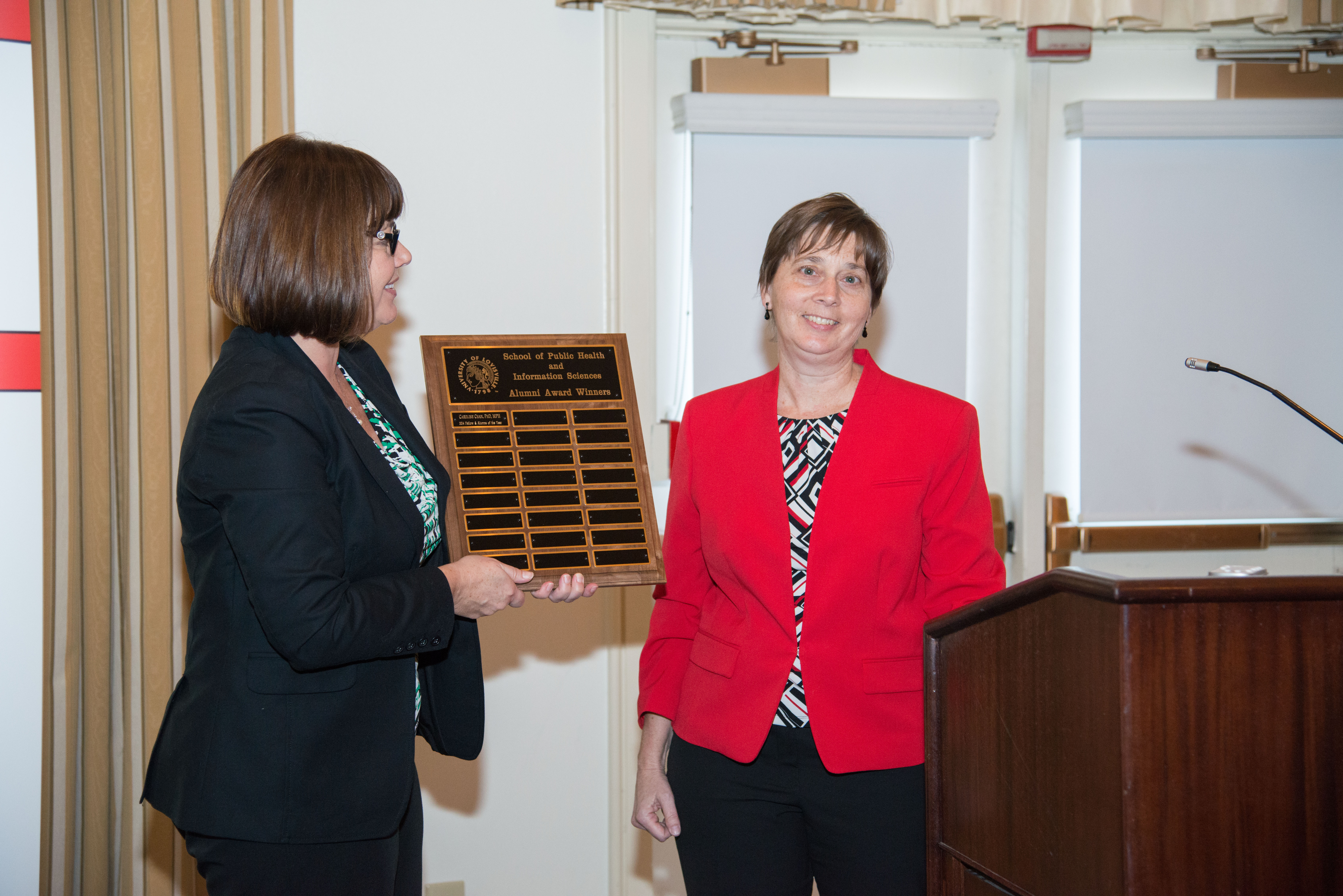 Dr. Caroline Chan named SPHIS Alumnus of the Year