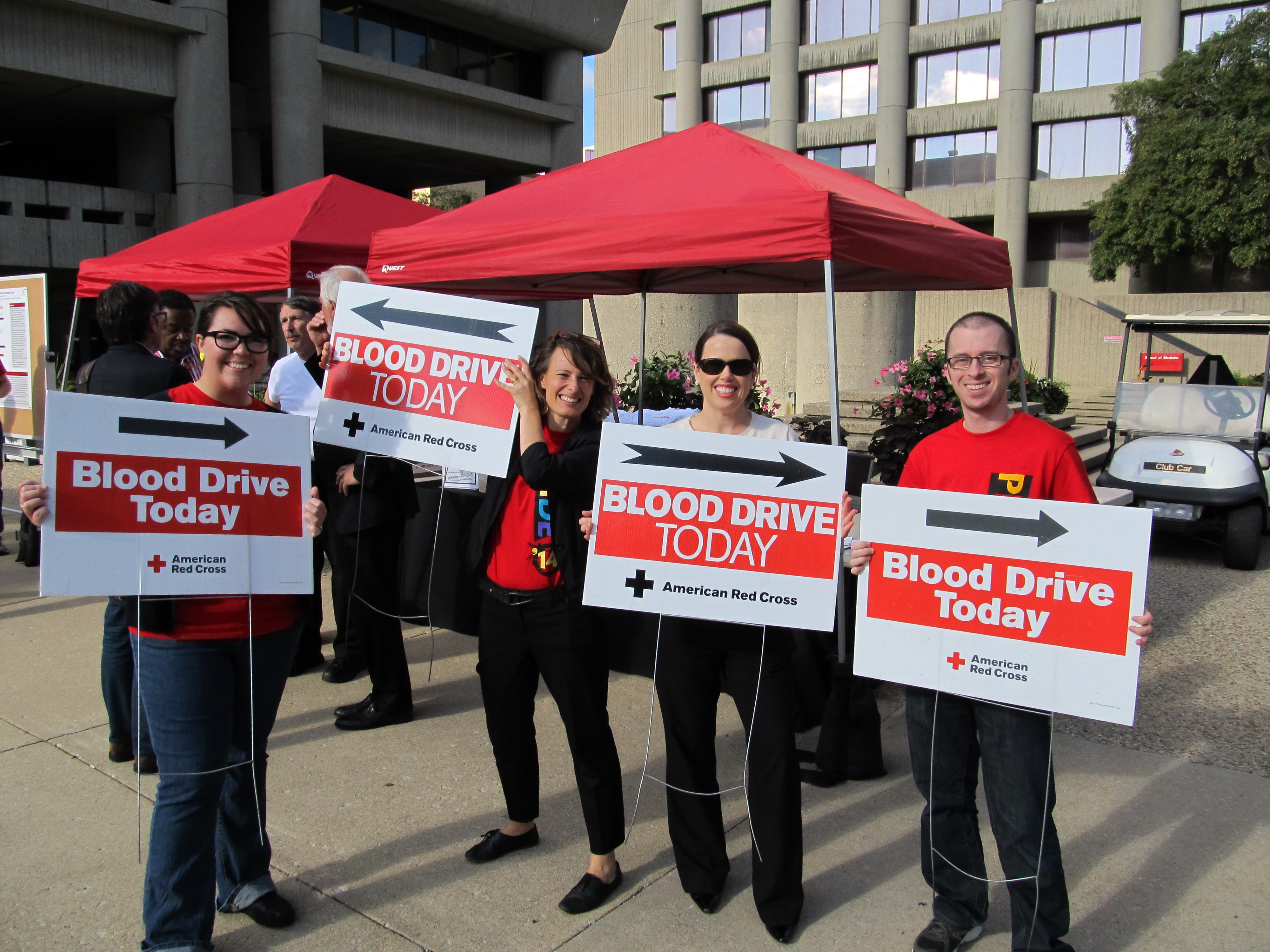 Pride Blood Drive nets needed units plus call for changes in blood donation policy