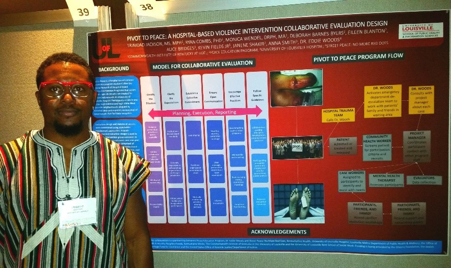 Jackson presents at the American Evaluation Association's 30th Annual International Conference