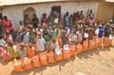 Public health, medical students help feed a village