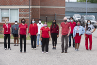 Public health students help keep campus safe, gain valuable skills as contact tracing specialists