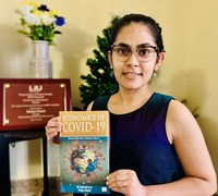 Q & A with doctoral student on new book about the economics of COVID-19