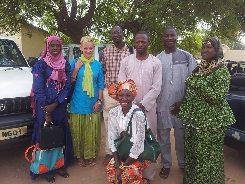 Wallis reflects on her experience in Gambia