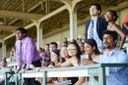 Crowd at a horse race