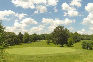 golf green at city park