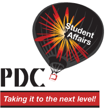 student affairs PDC, taking it to the next level.