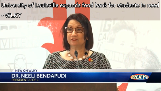 University of Louisville expands food bank for students in need
