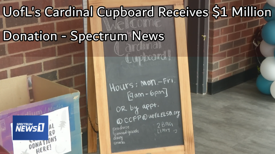 UofL's Cardinal Cupboard Receives $1 Million Donation - Spectrum News