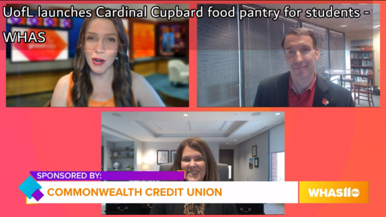 UofL launches Cardinal Cupboard food pantry for students - WHAS
