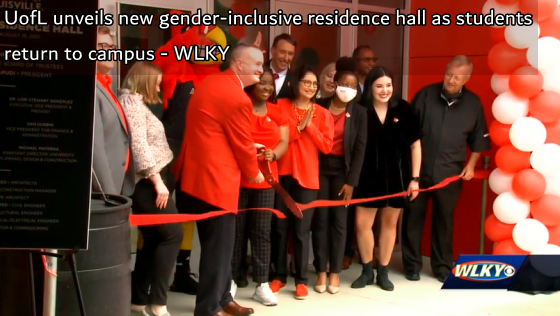 UofL unveils new gender-inclusive residence hall as students return to campus - WLKY