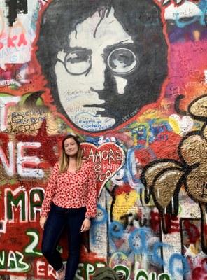 Brianna in Prague