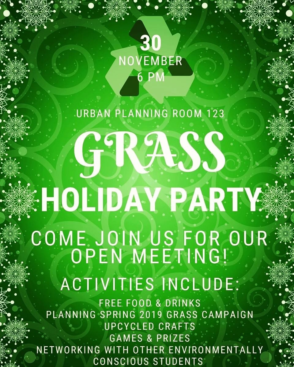 11-30-18 GRASS Holiday Party