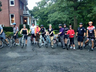 Pedal with the President