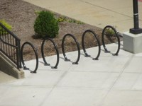 Bike Racks at SAC East