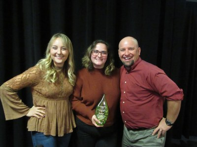 Erin Kurtz was awarded the 2019 Josh Smith Memorial Sustainability Award by UofL.