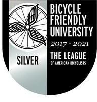 Bike Friendly University Silver Seal 2017-2021