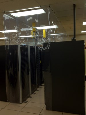 Cold Aisle Containment - MITC Data Center