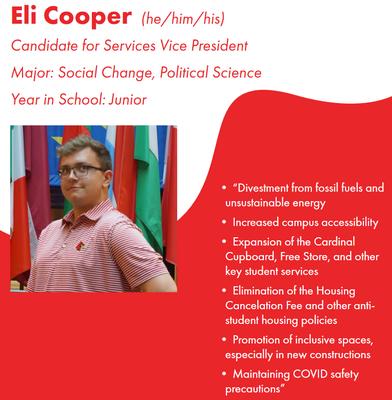 Eli Cooper, 2021-22 SGA SVP