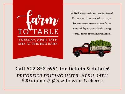 Farm To Table 2017