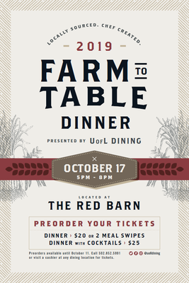 Farm To Table Dinner 2019
