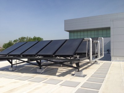 Student Rec Center Solar Water Heaters