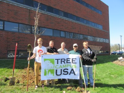 UofL Arbor Day 2016 Tree Planting